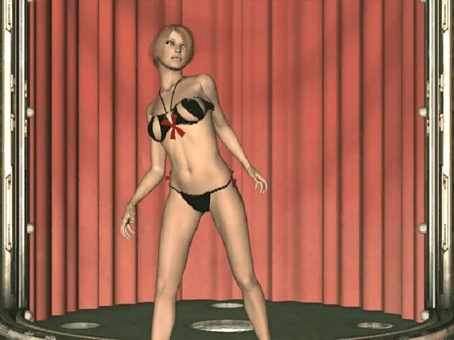 Good wanting 3D mannequin in black lingerie Cindy dancing flirtatiously for you