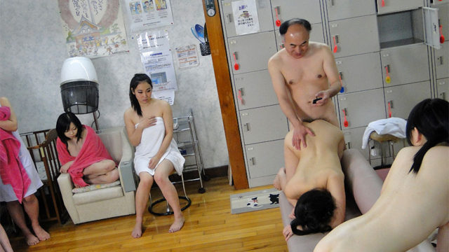 Kotomi Asakura and Jun Sena fucked by a person