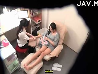 Jav therapeutic massage laborious intercourse