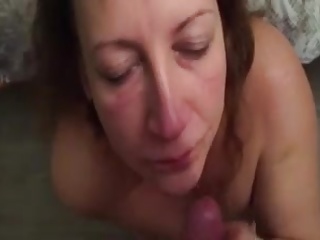 house blowjob POV