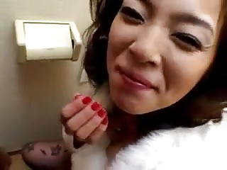 Asian Rest room BJ
